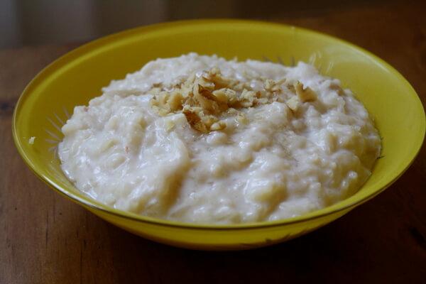 рисовый завтрак