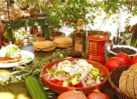 диета жителей о.Крит