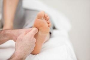 массаж ступней