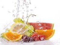 вода во фруктах