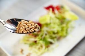 пшеница в салате