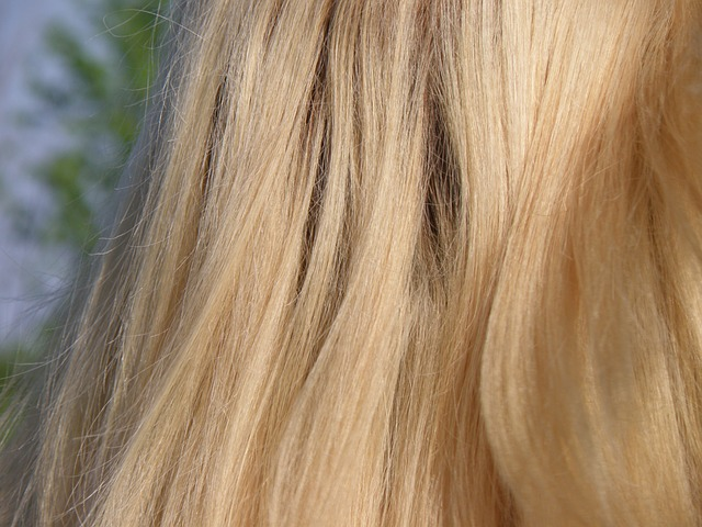 Стриженные волосы