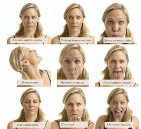 йога лица