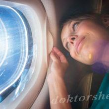 Как оставаться красивой после полета на самолете