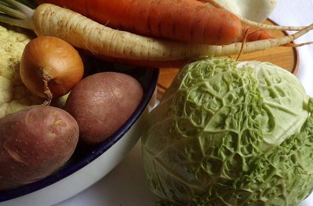 Щелочные овощи